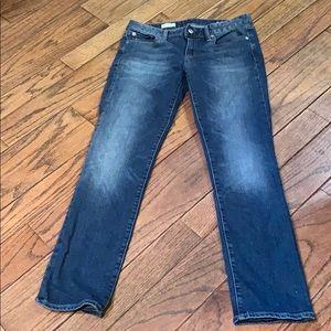GAP real straight jeans 27s